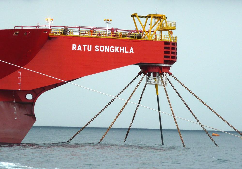 External Cantilever Turret London Marine Consultants