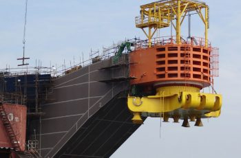 External Cantilever Turret London Marine Consultants